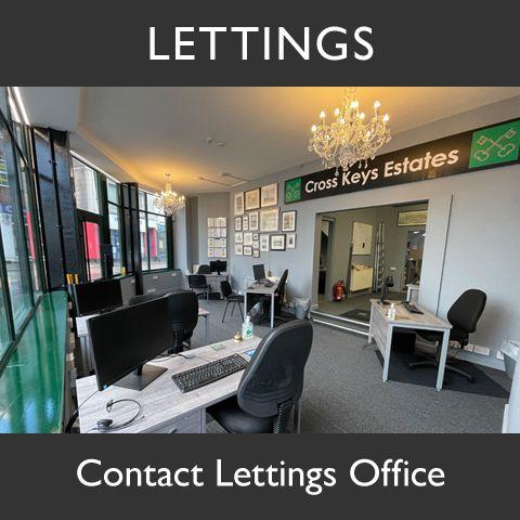 Cross Keys Estate Agents Lettings Office Graphic