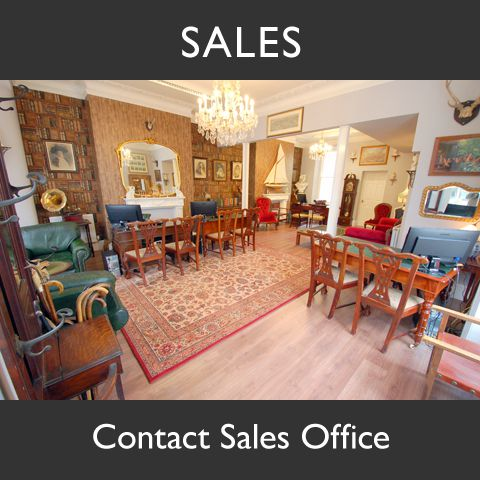 Cross Keys Estate Agents Sales Office Graphic