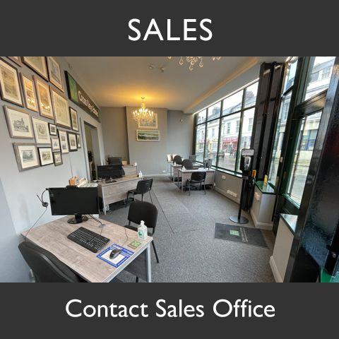 Cross Keys Estate Agents Sales Office Graphic